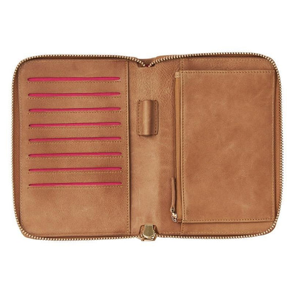 Emma Wallet - Vintage Tan | Shop Arlington Milne at Wallace and Gibbs