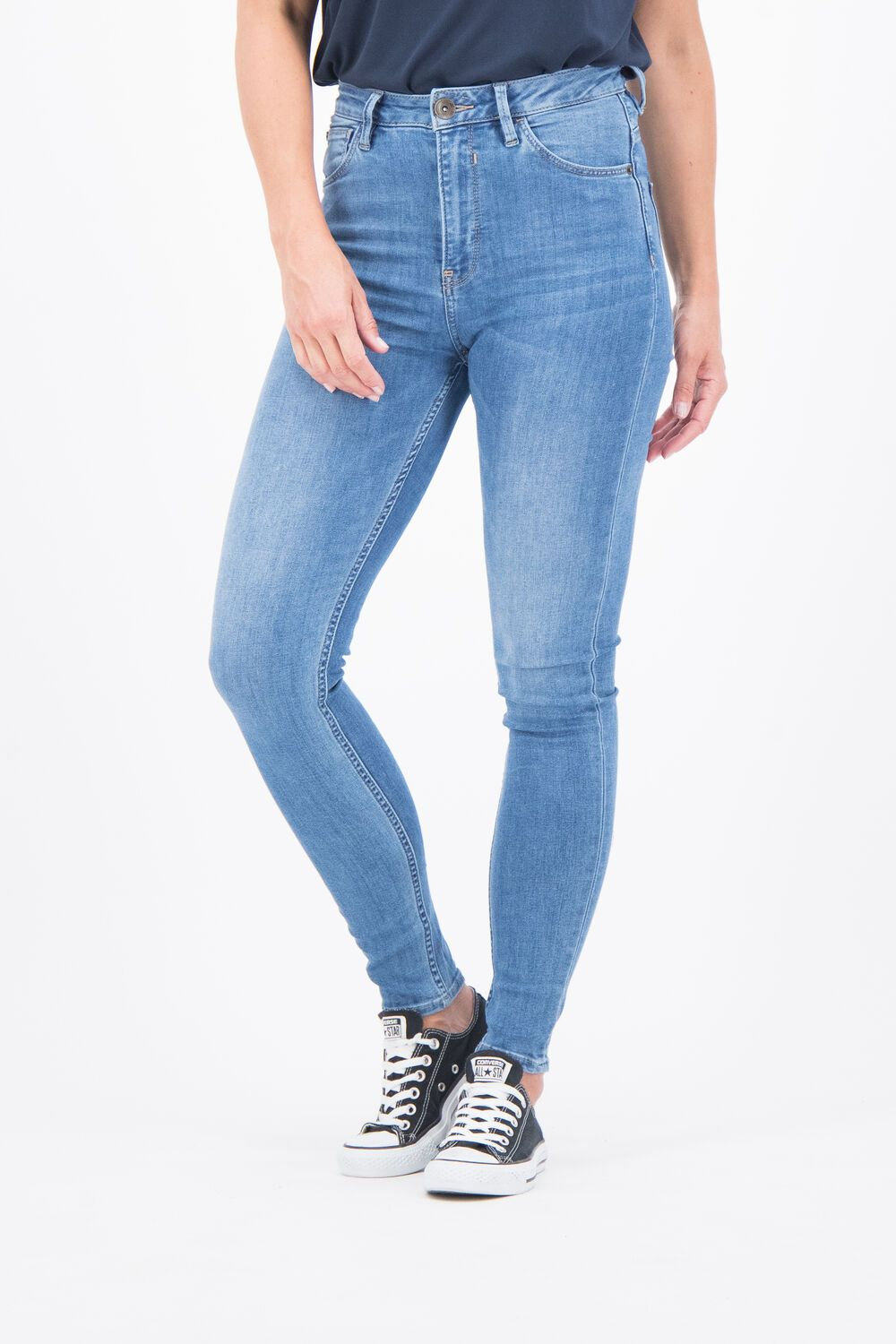 Enrica Jeans - Medium Blue Denim | Shop Garcia at Wallace and Gibbs
