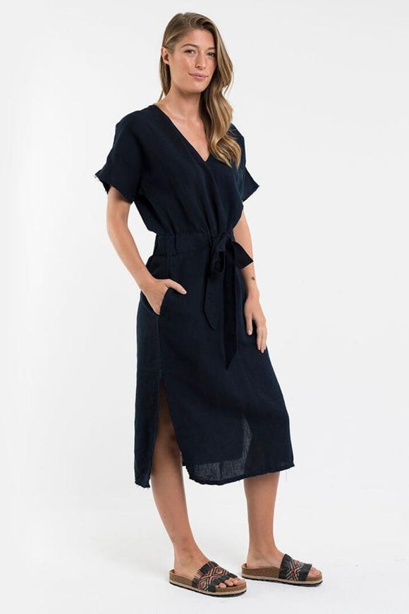Foxwood Orchid Dress Navy