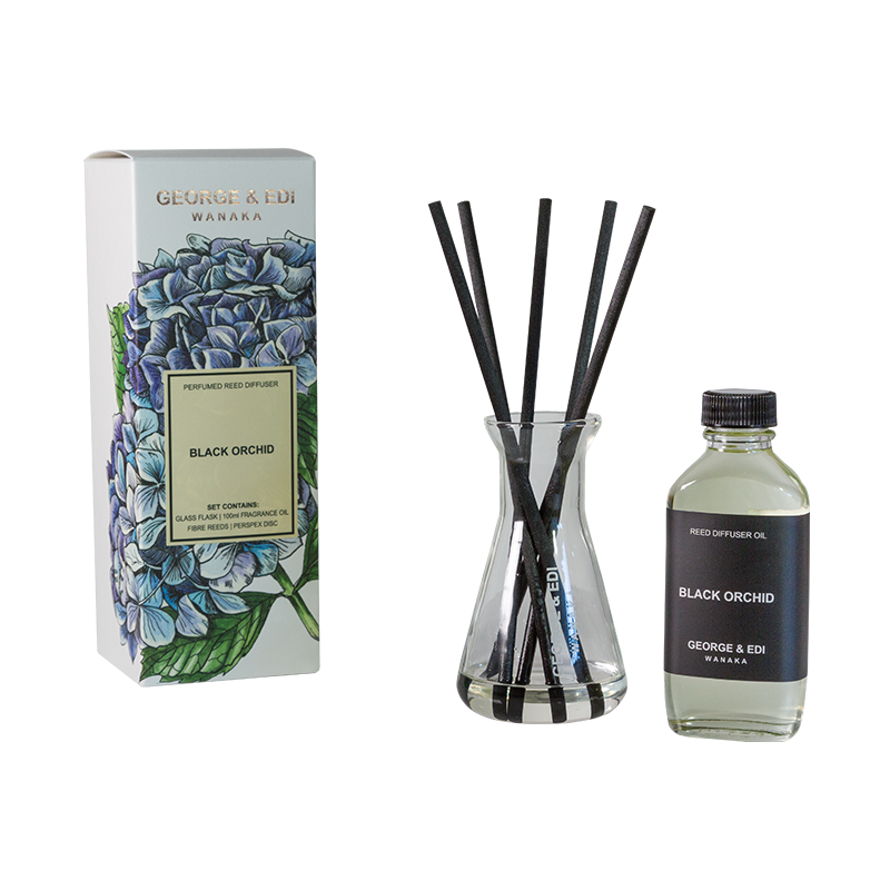Diffuser Set - Black Orchid | Shop George & Edi at Wallace and Gibbs