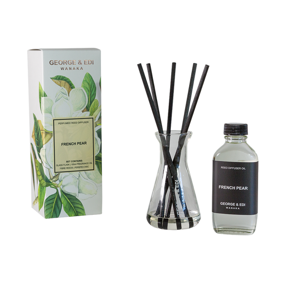 Diffuser Set - French Pear | Shop George & Edi at Wallace and Gibbs
