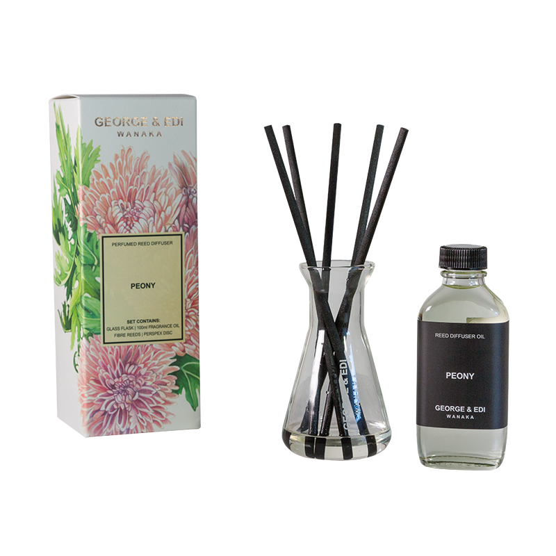 Diffuser Set - Peony | Shop George & Edi in store at Wallace and Gibbs