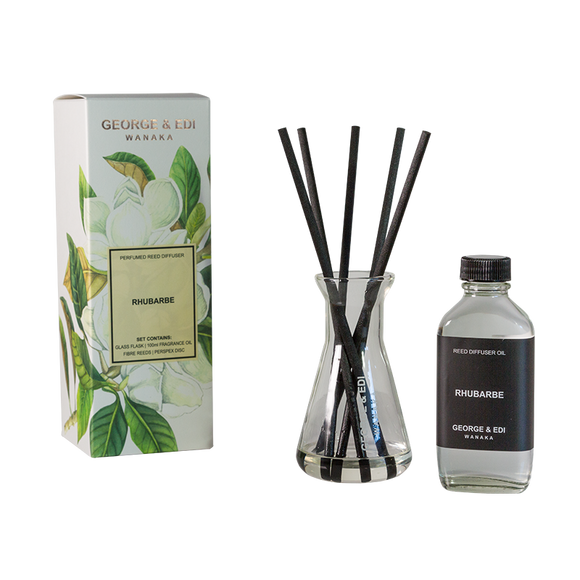 Diffuser Set - Rhubarb | Shop George & Edi at Wallace and Gibbs