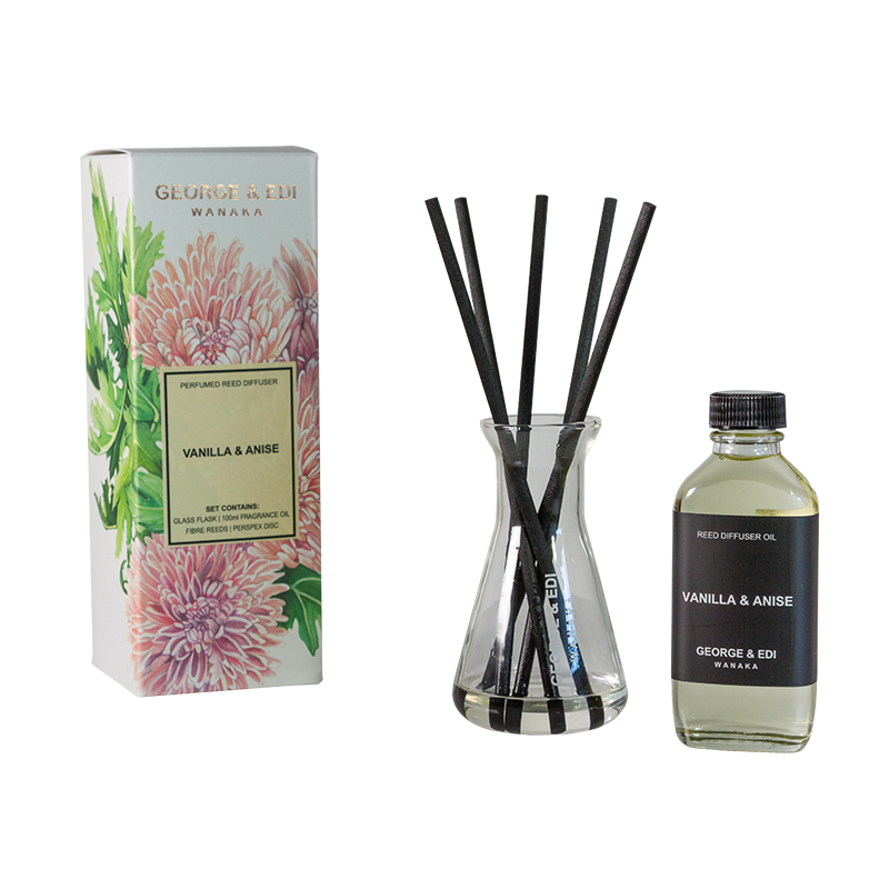 Diffuser Set - Vanilla Anise | Shop George & Edi at Wallace and Gibbs