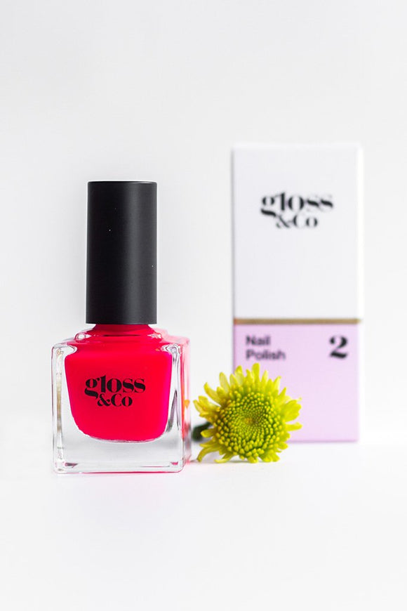Gloss & Co Nail Polish - Grenadine