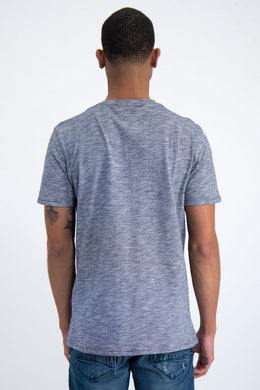 Mens SS T-Shirt - Heather Blue | Shop Garcia at Wallace and Gibbs