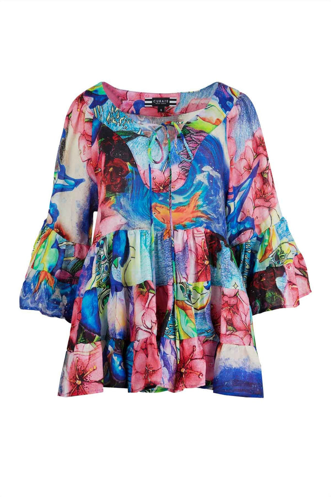 Curate Ring My Bell Top - Floral