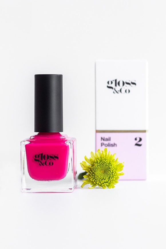 Gloss & Co Nail Polish - Hibiscus