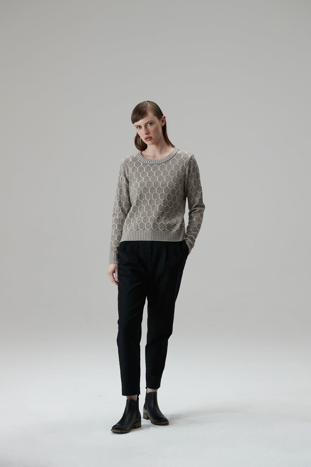 Standard Issue Honeycomb Jumper | Shop Online at Wallace & Gibbs NZ
