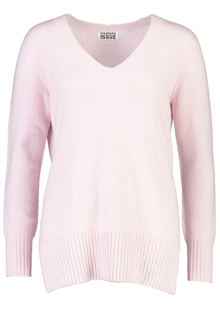 Standard Issue Cashmere Deep V - available in 2 colours