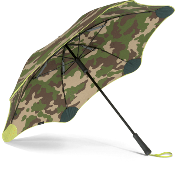 Blunt XS Classic Umbrella Camouflage Yellow shop online or in store at Wallace&Gibbs