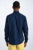 Mens L/S Shirt - Indigo | Shop Garcia at Wallace and Gibbs