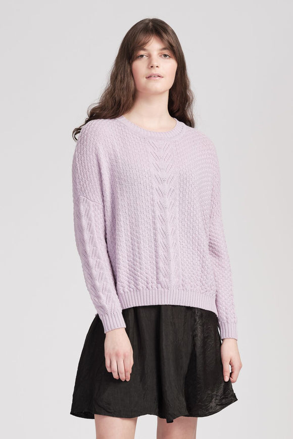 Willoughby Jumper - Lilac