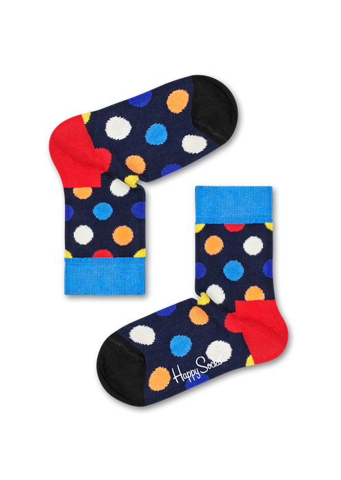 Kids Big Dot Sock | Happy Socks at Wallace and Gibbs Arrowtown, NZ