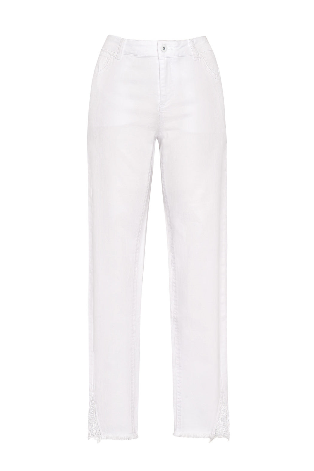 Loobies Story Adella Jean - White Denim | Shop at Wallace and Gibbs NZ