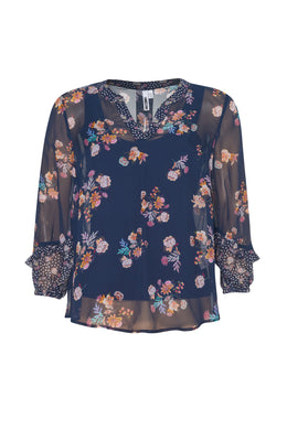 Loobies Story Salsa Blouse | Shop at Wallace and Gibbs NZ