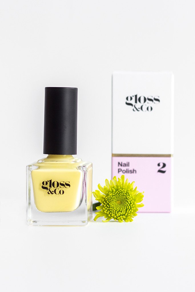 Gloss & Co Nail Polish - Lemoncello