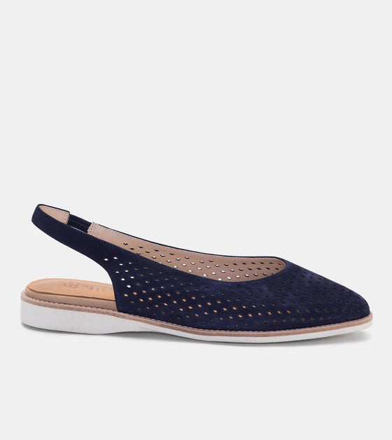 Madison Slingback Punch - French Navy