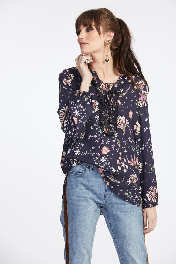 Loobies Story Flora Ruffle Top | Shop at Wallace and Gibbs NZ
