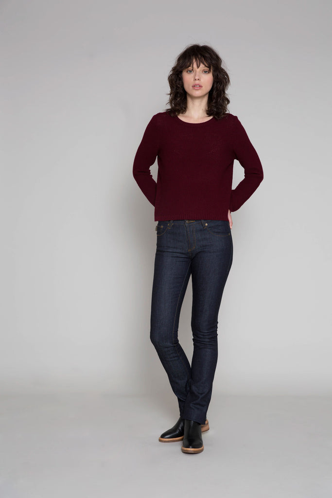 Standard Issue Moss Jumper | Shop Standard Issue at Wallace and Gibbs