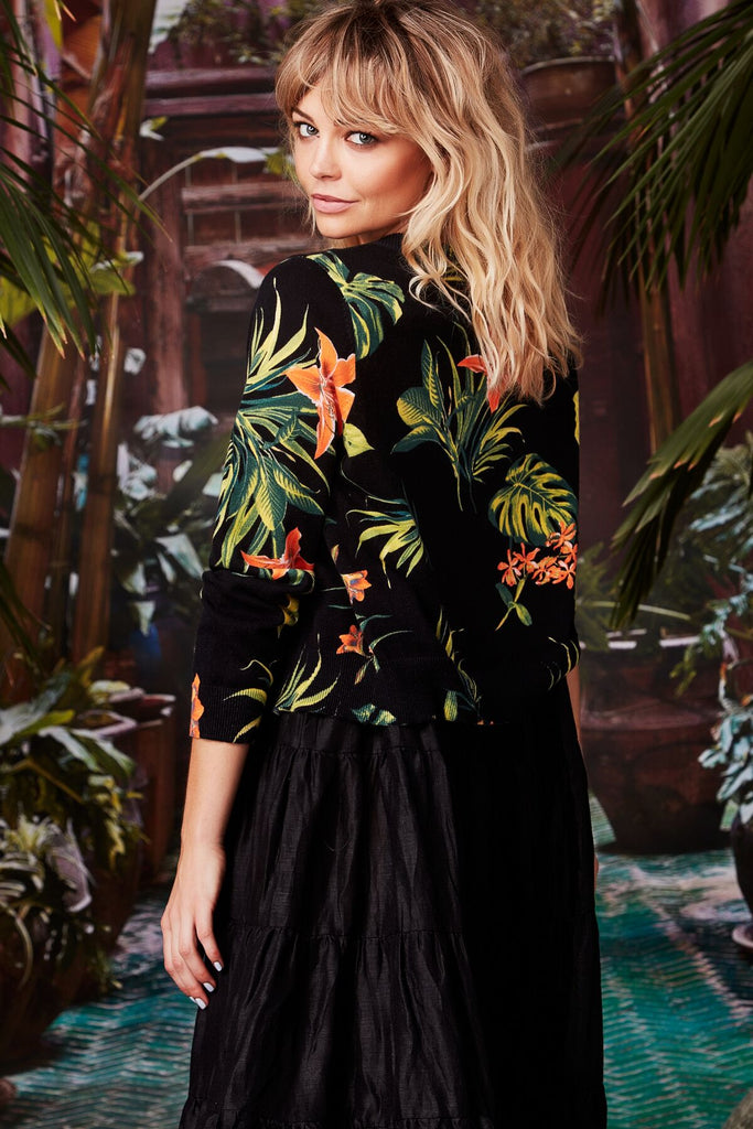 Curate Island Life Cardigan - Tropical