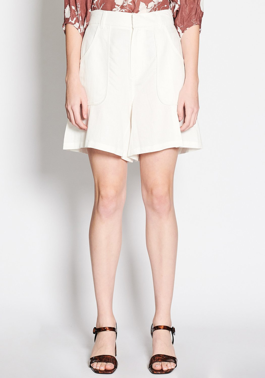 Napa Short White | Shop POL clothing at Wallace and Gibbs NZ