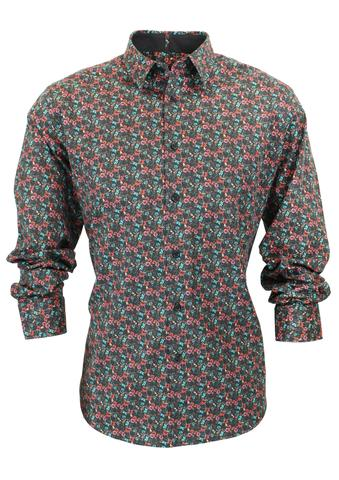 Nigel LS Shirt | Shop Mens Shirts at Wallace and Gibbs Arrowtown NZ