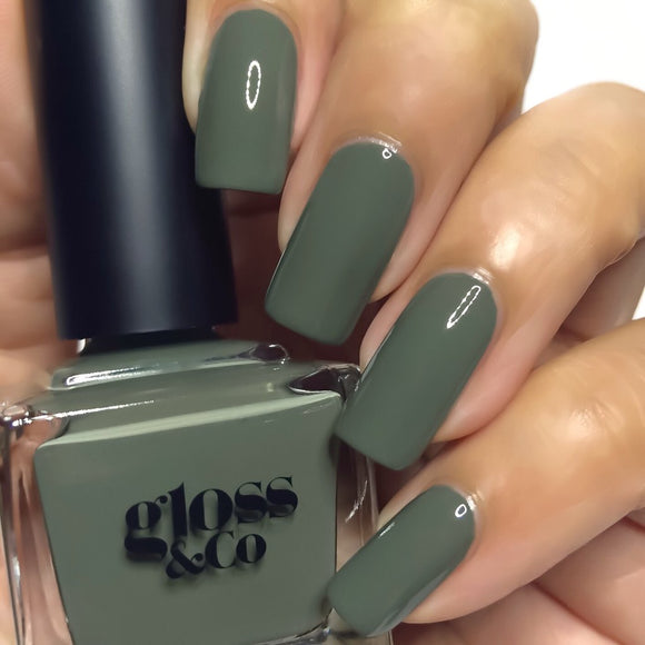 Gloss & Co Nail Polish - Olive