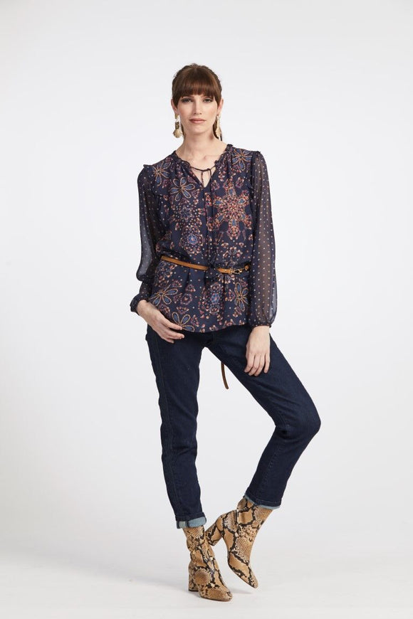 Loobies Story Bianca Jean Indigo Wash | Shop at Wallace and Gibbs NZ