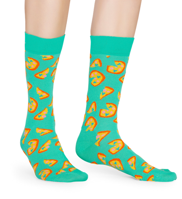 Pizza Sock | NZ Happy Socks at Wallace and Gibbs in Arrowtown