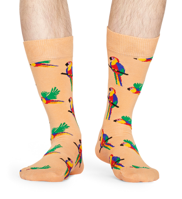 Parrot Sock | NZ Happy Socks at Wallace and Gibbs in Arrowtown
