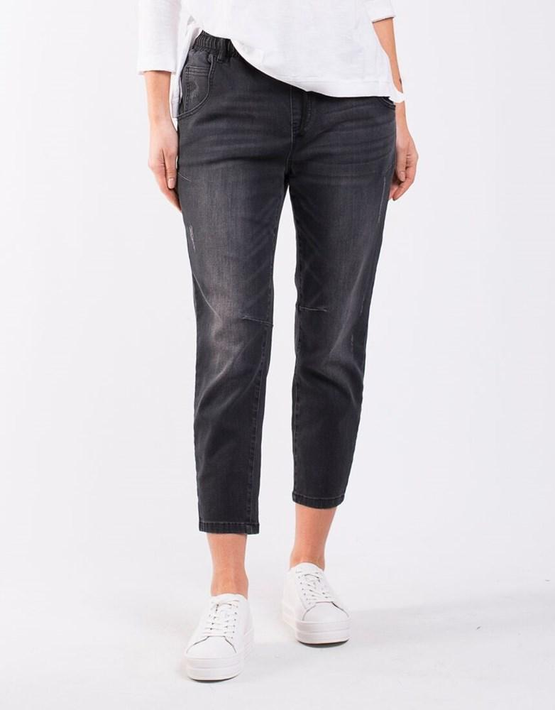 Peony Jogger Jean | Shop Foxwood at Wallace & Gibbs in Arrowtown NZ