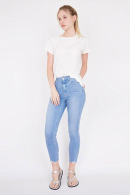 Paige Margot Crop Satellite | Buy Paige Jeans at Wallace and Gibbs NZ