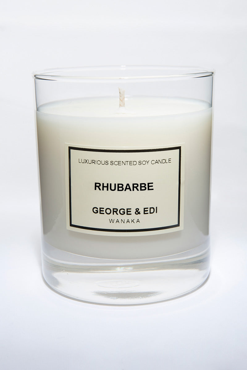 Candle - Rhubarbe | Shop George & Edi in store at Wallace and Gibbs