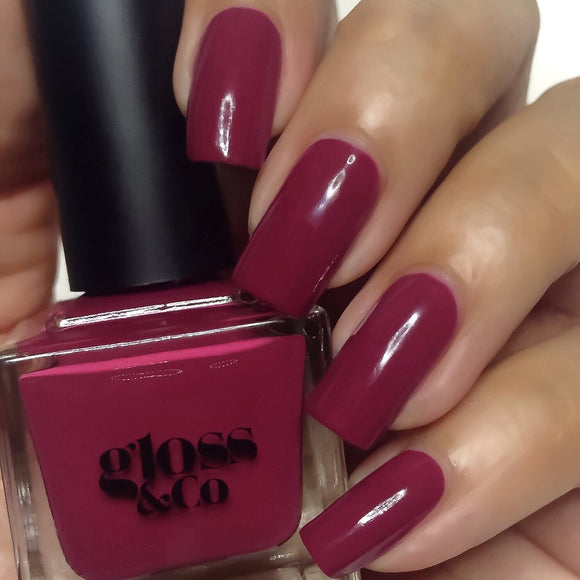 Gloss & Co Nail Polish - Ruby