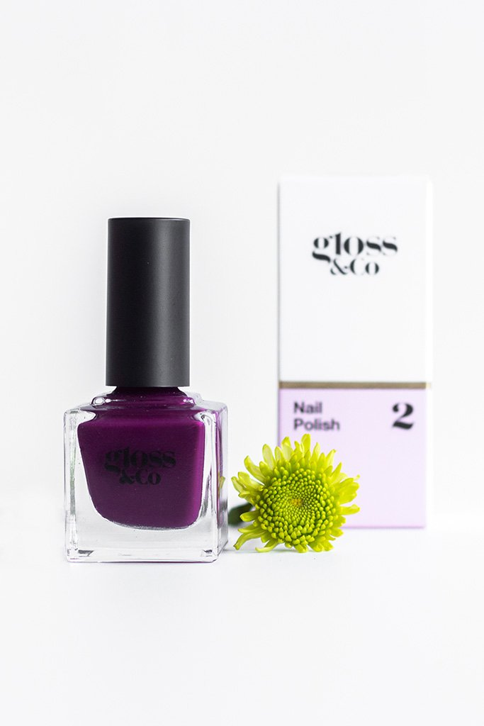 Nail Polish - Scarlett  | Shop Gloss & Co at Wallace&Gibbs in Arrowtown, NZ