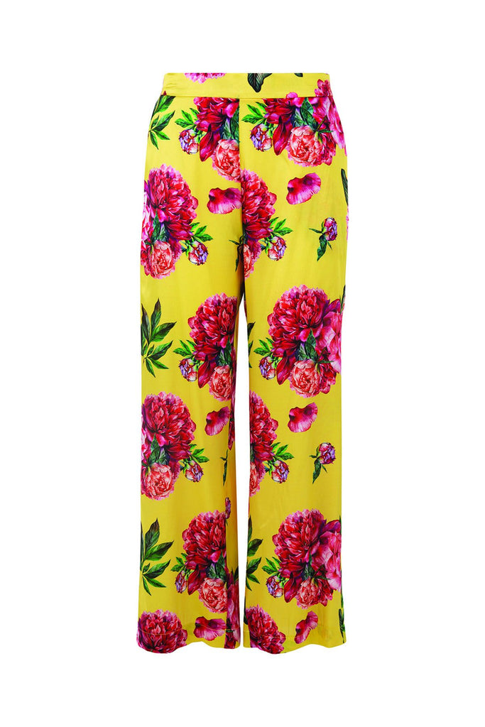 Curate Pants Down Pant - Yellow