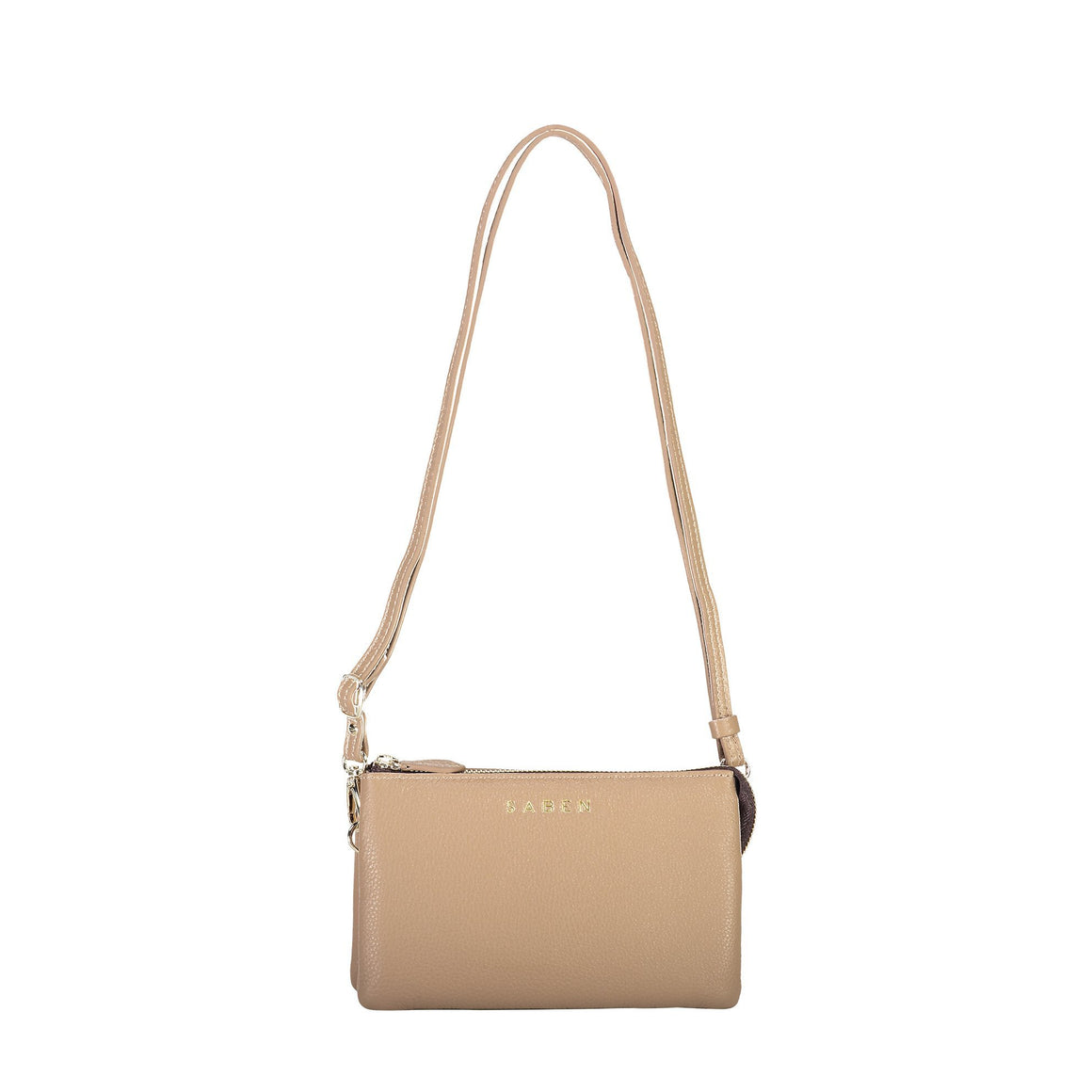 Tilly Crossbody Camel | Shop Saben at Wallace and Gibbs NZ