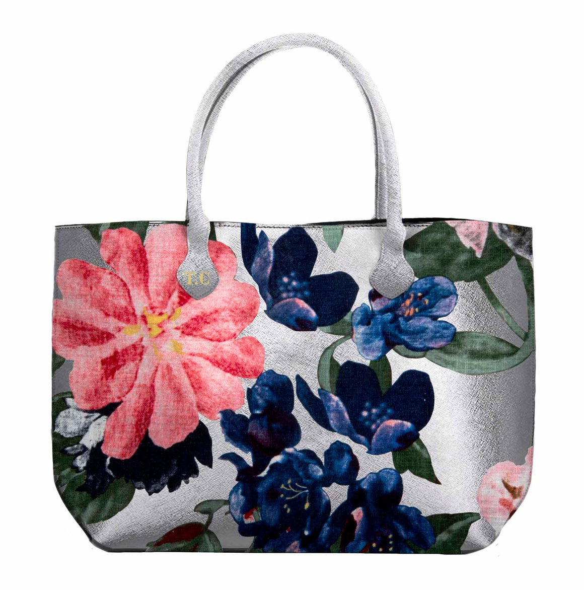 Trelise Cooper Lost In The Meadows Tote - Silver Floral