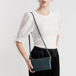 Tilly Crossbody Prussian Blue | Shop Saben at Wallace and Gibbs NZ