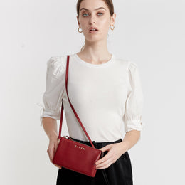 Tilly Crossbody Rosewood | Shop Saben at Wallace and Gibbs NZ