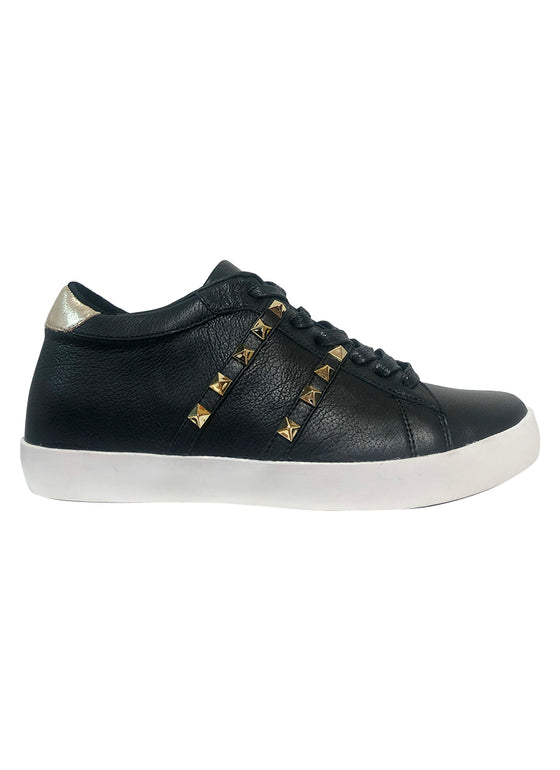 Eileen Shoe - Black/Gold
