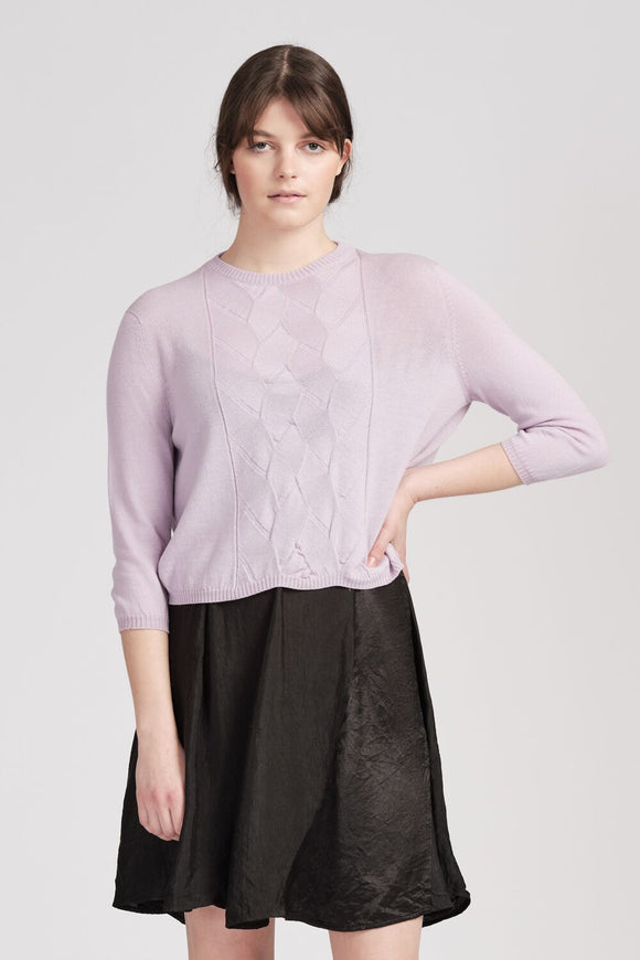 From Edith Jumper Lilac | Shop online | NZ Made knitwear