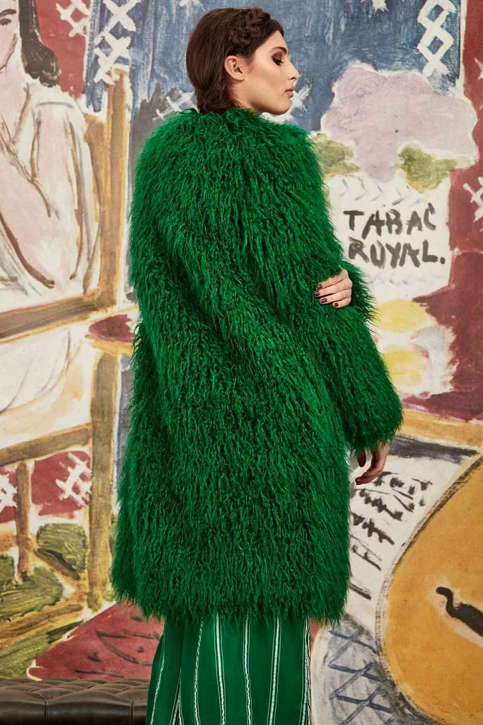 Curate To Fur With Love Coat - Forest