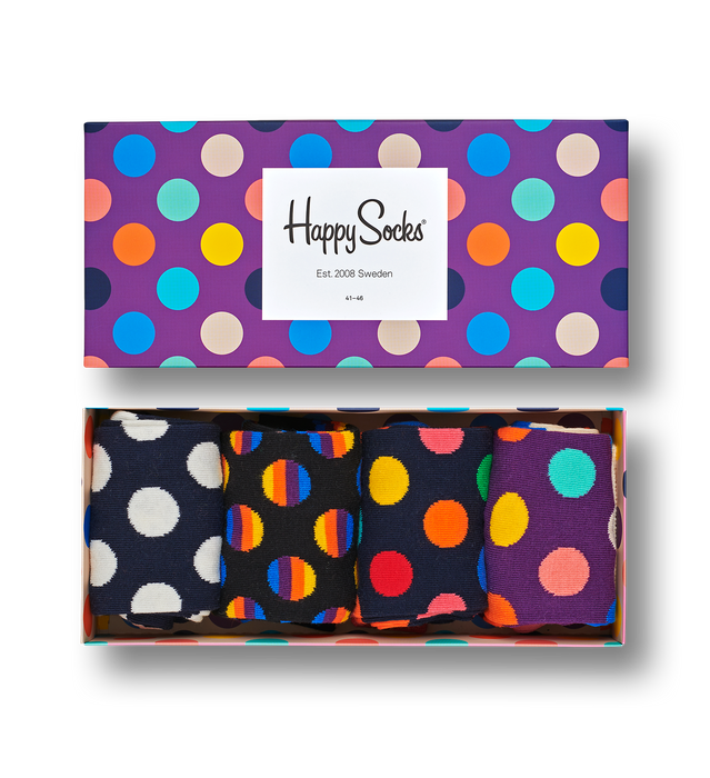Dot Gift Box | Happy Socks | Shop at Wallace and Gibbs in NZ