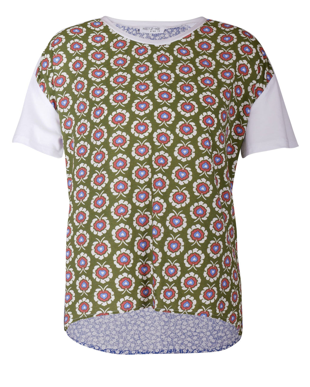 Ketz-ke Promise Tee Khaki | Shop Ketz-ke at Wallace and Gibbs