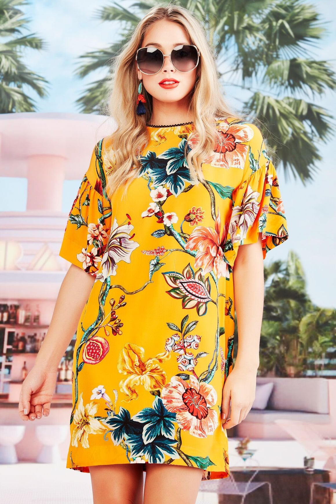 Trelise Cooper Nice To Sweet You Tunic - Mango Floral