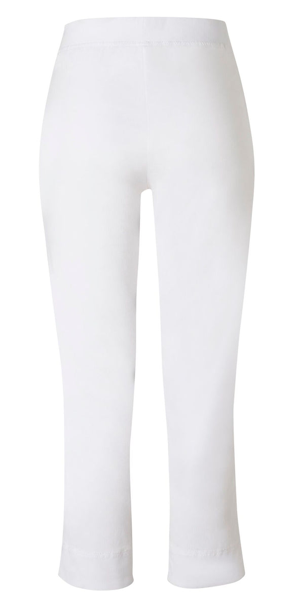Loobies Story Everyday 7/8 Pant White | Shop at Wallace and Gibbs