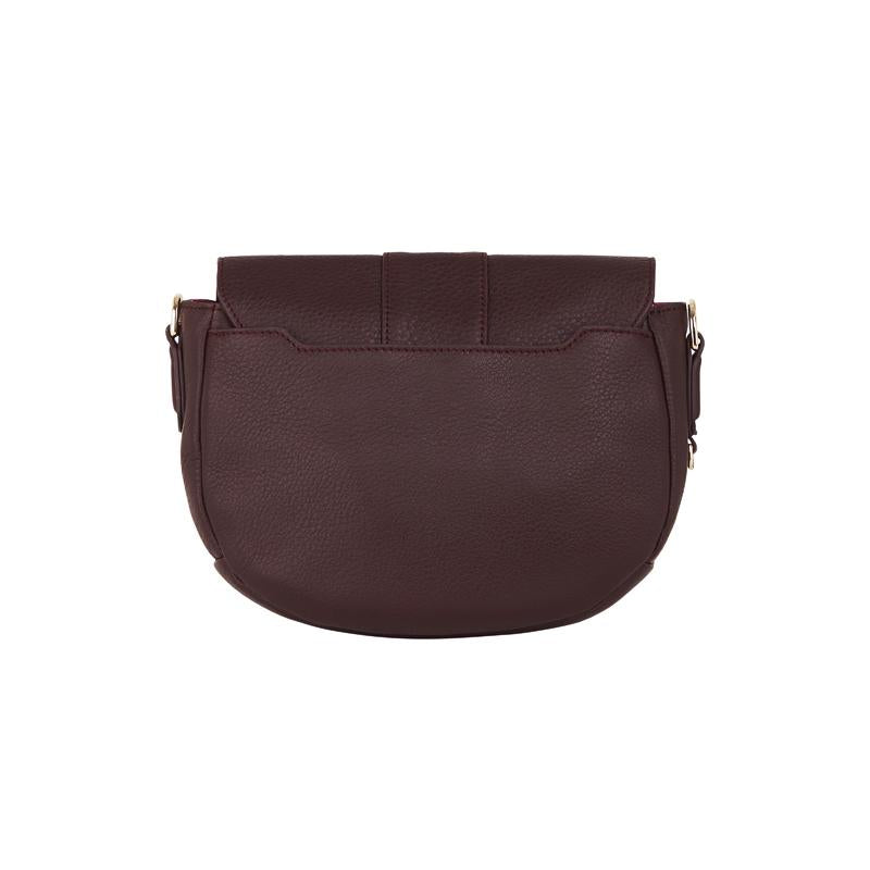Zara Saddle Bag Pinot | Shop Arlington Milne at Wallace and Gibbs NZ