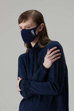 Standard Issue Zero waste Face Mask - Navy | Shop at Wallace and Gibbs